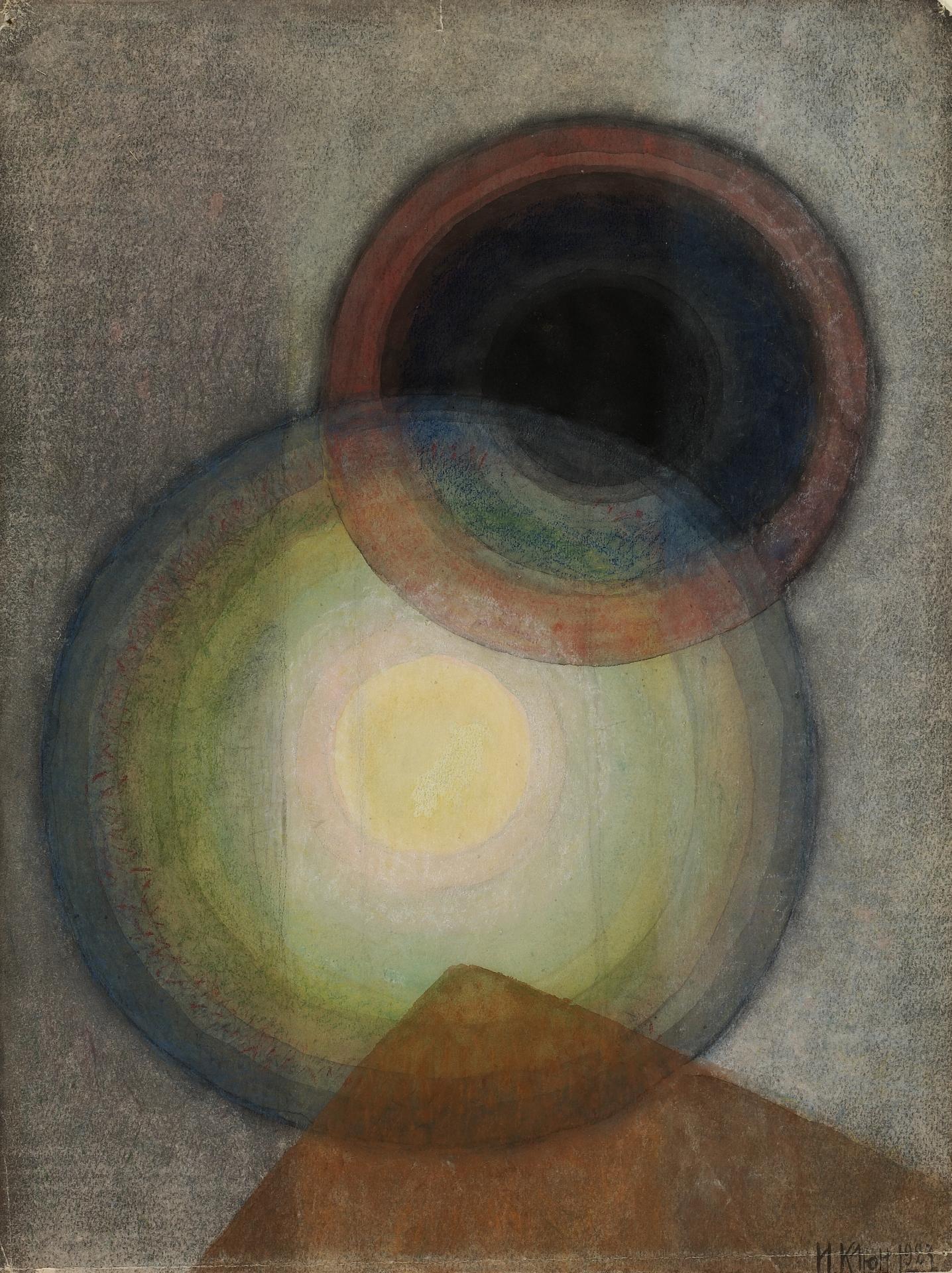 Iwan Klun / / Ivan Kliun, Bez tytułu, 1927