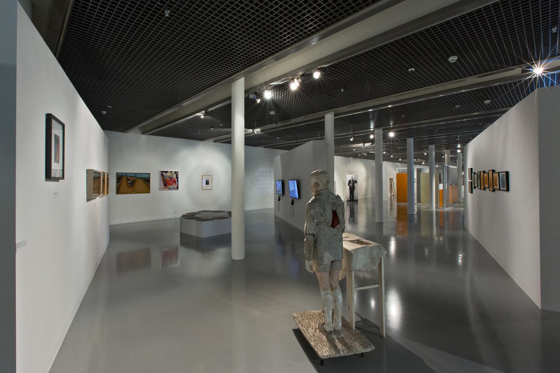 Atlas nowoczesności, widok ekspozycji. Fot. P. Tomczyk