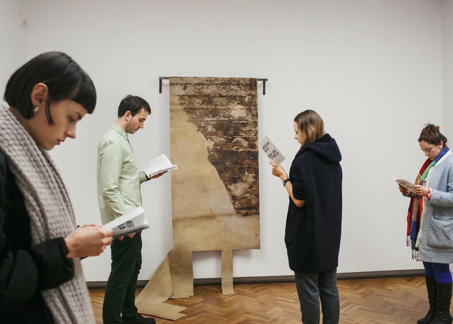 `Mirosław Bałka: Nerw. Konstrukcja`, wernisaż wystawy