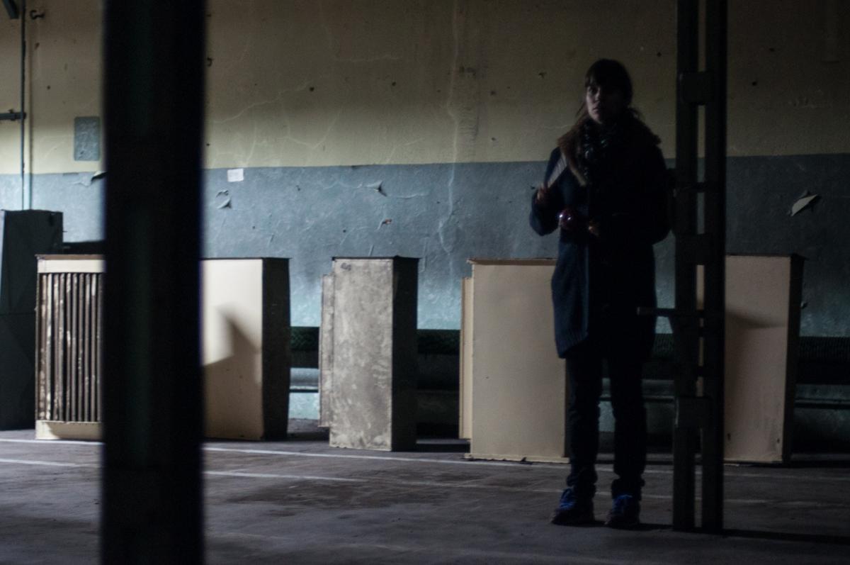 Kompozycja na 12 aktorów i budynek Lido, fot. S. Kmieciak