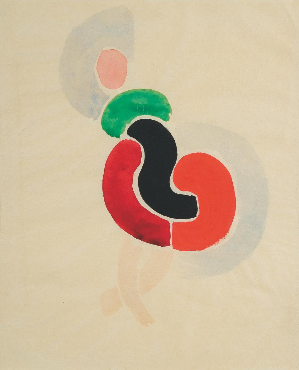 Sonia Delaunay, Tancerka, ok. 1923, kolekcja Muzeum Sztuki w Łodzi