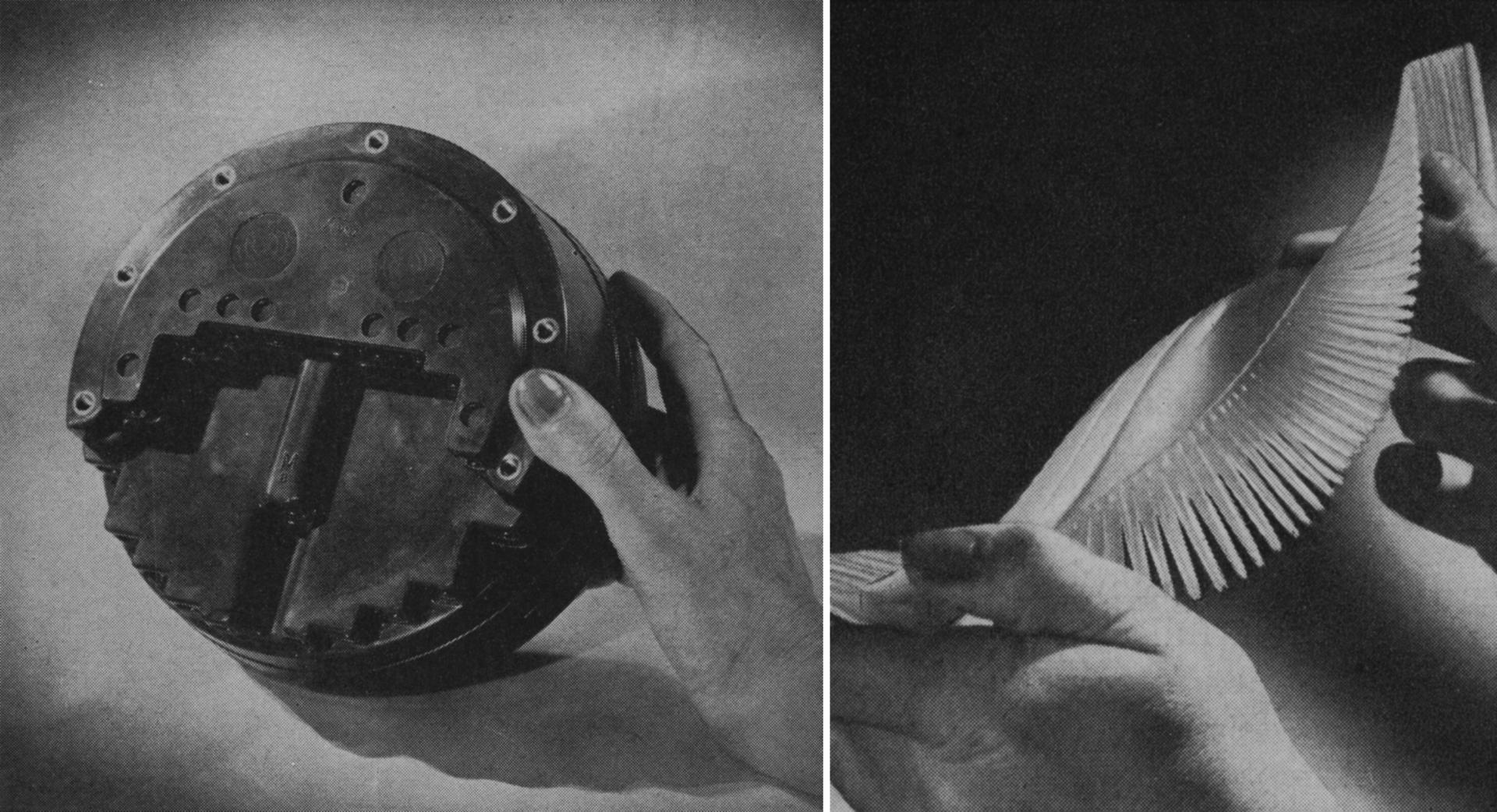 Alexandra Navratil, Modern Magic (Nowoczesna magia), 162 slajdy, 2 projektory, ściemniacze, 2013, dzięki uprzejmości artystki i Dan Gunn Gallery, Berlin