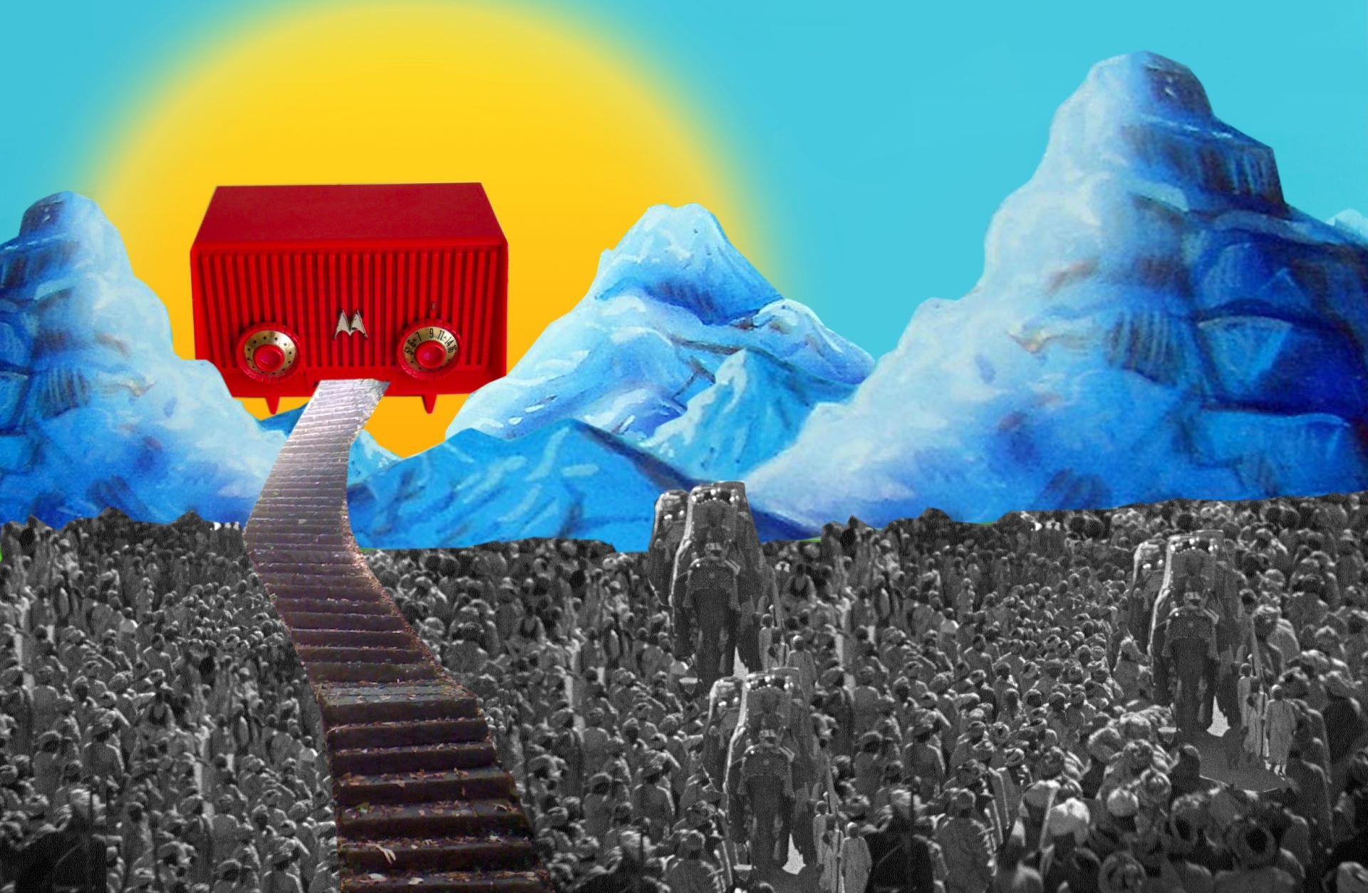 Yashas Shetty, In the beginning was the word (Na początku było słowo), 2016, dzięki uprzejmości  artysty