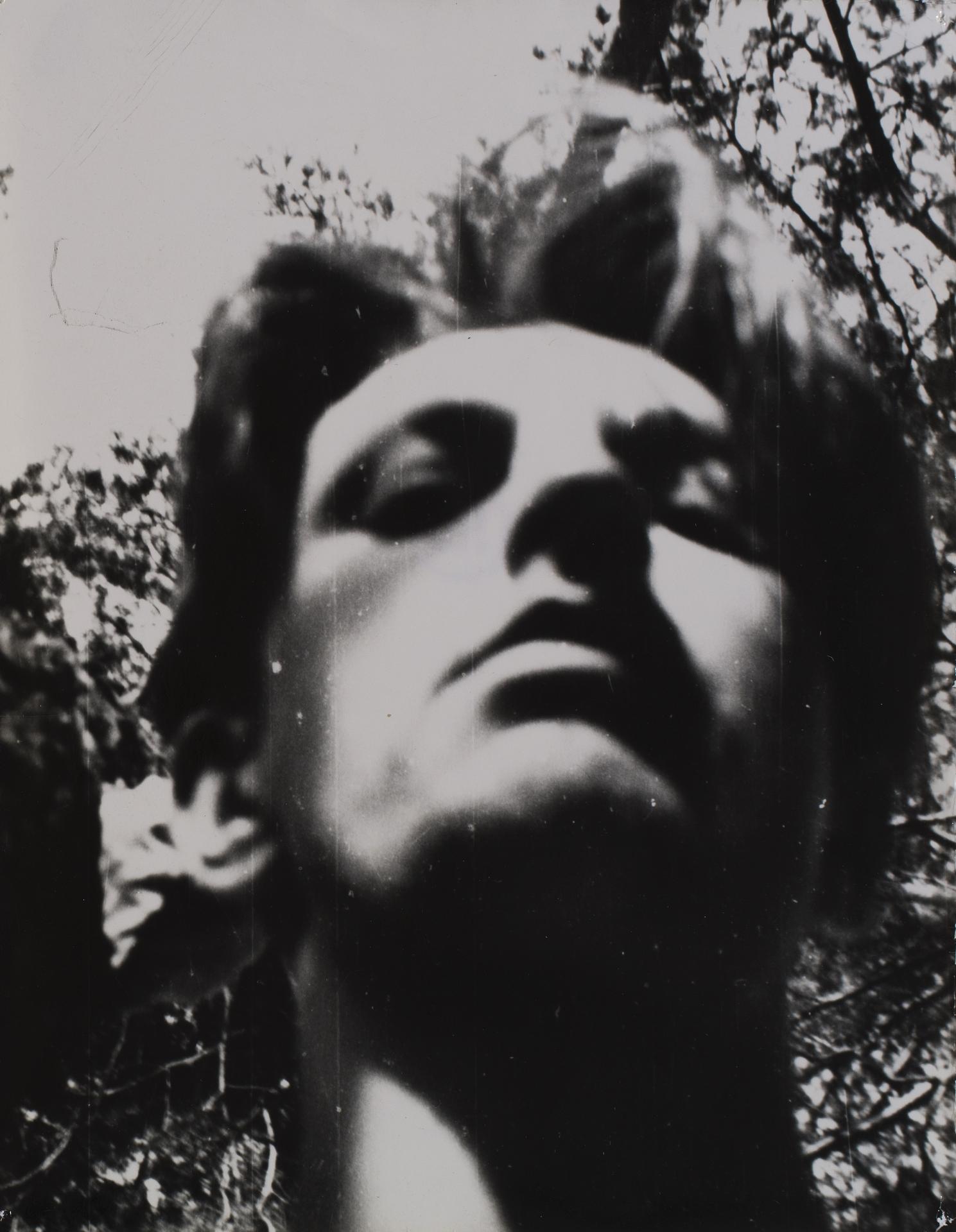 Andrzej Strumiłło, Autoportret w plenerze,  1948
