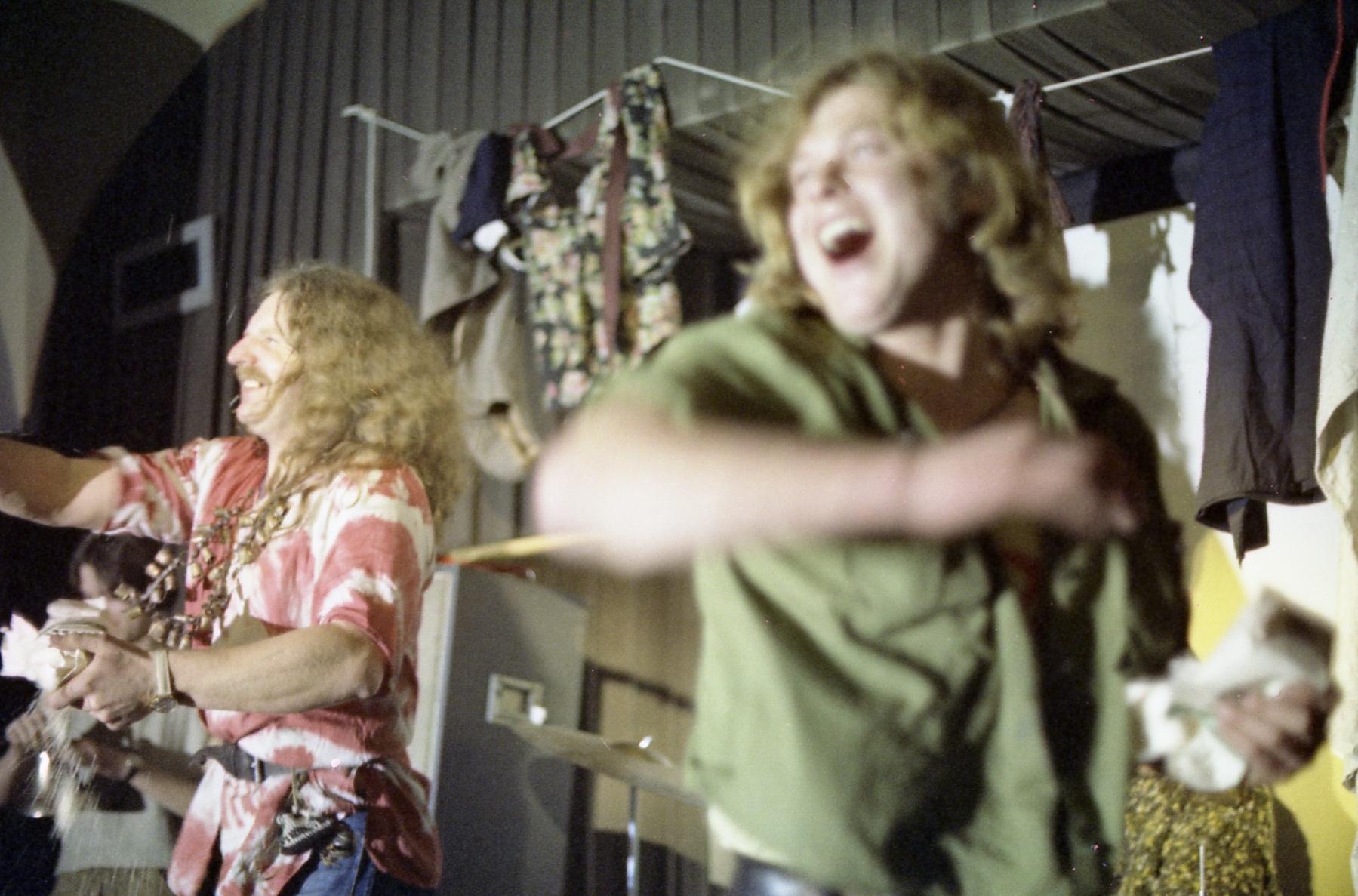 Kapela Aktual, koncert w F Klubie, Praga, 1971, dzięki uprzejmości Milana Knížáka