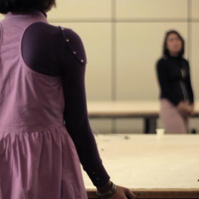 """Wendelien van Oldenborgh, """"Pertinho de Alphaville"""", 2010, instalacja, cyfrowa projekcja slajdów, dźwięk, 20 min, dzięki uprzejmości artystki"""