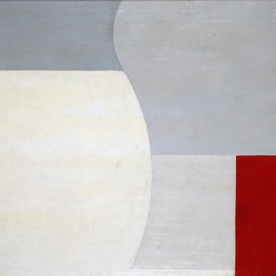 Henryk Stażewski, Obraz abstrakcyjny II, ok. 1929, olej, płótno, 60 cm × 73 cm, Muzeum Sztuki, Łódź
