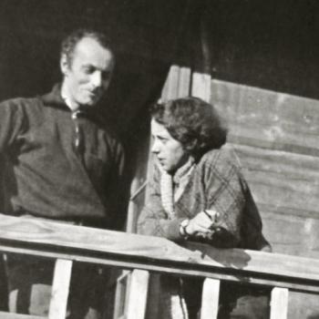 Katarzyna Kobro, Władysław Strzemiński, Wisła, 1933, fot. archiwum Muzeum Sztuki w Łodzi