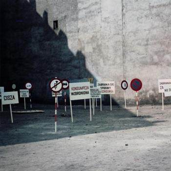 Ewa Partum, Legalność przestrzeni, 1979.
