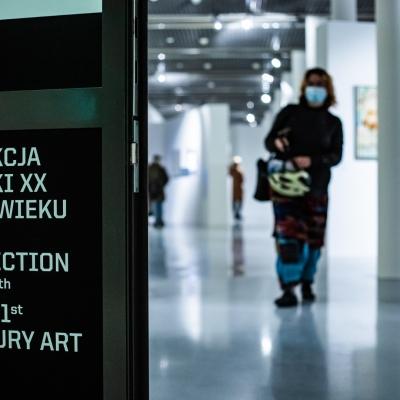 """Wernisaż wystawy """"Atlas Nowoczesności. Ćwiczenia"""",  fot. HaWa"""