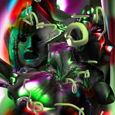 """Justyna Wierzchowiecka,  """"Opacity"""" z cyklu """"Muzeum Studies"""", fotografia cyfrowa, fragment, 2020"""