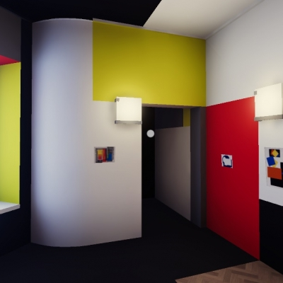 Wirtualna Sala Neoplastyczna, kadr