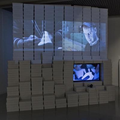 """Widok wystawy """"Atlas nowoczesności"""""""