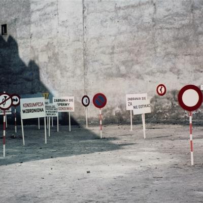 Ewa Partum Legalność przestrzeni, 1979, Muzeum Sztuki w Łodzi