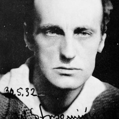 Na zdjęciu: Władysław Strzemiński, fot. archiwum Muzeum Sztuki w Łodzi