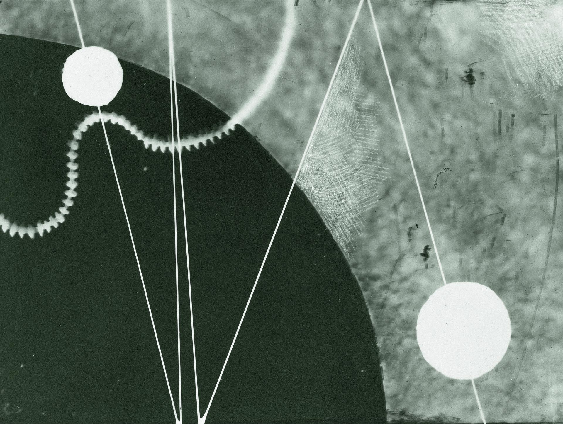 Karol Hiller, Kompozycja heliograficzna (II), ca 1928–1930