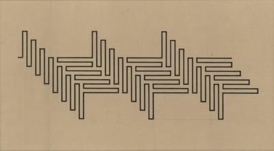 """Wacław Szpakowski, """"From the series A: A 1"""", 1930"""
