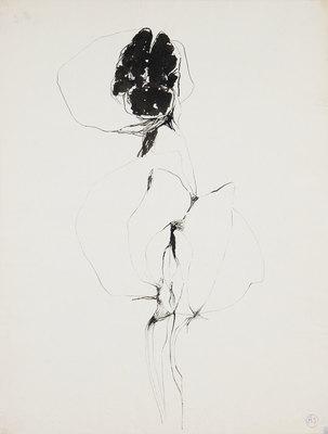 "Alina Szapocznikow, ""Drawing 41"", aroind 1970"