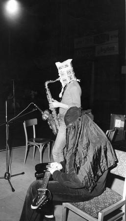 Kilhets performing at IX Pražské jazzové dny (9th Prague Jazz Days), 1979, photo: Jiří Kučera / courtesy of Mikoláš Chadima
