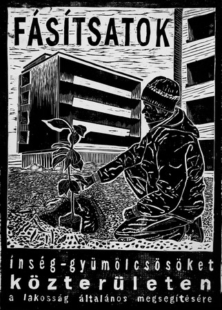 Poster for Famine-orchards, 2012, courtesy of the artist