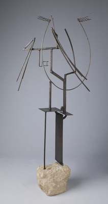 """Julio González, """"Czesząca się"""", ok. 1934, Moderna Museet, Stockholm"""