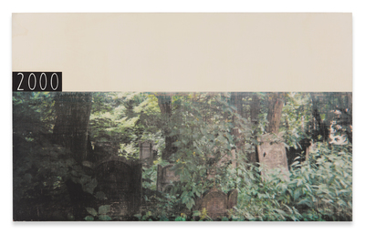 "RH Quaytman ""Łódź Poem, Chapter 2 (Jewish Graveyard)"", 2000-2004"