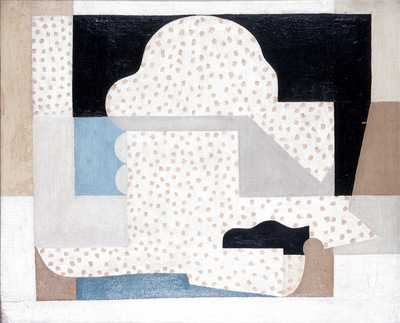 Władysław Strzemiński, Martwa natura 3, 1923, płótno, farby olejne, fot. archiwum Muzeum Sztuki w Łodzi/ © Ewa Sapka-Pawliczak & Muzeum Sztuki w Łodzi