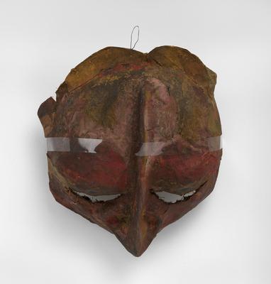 Franciszka Themerson, Ubu Masks, 1951, oil paint on paper-maché © Themerson Estate, London Richard Saltoun Gallery, London