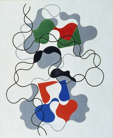 Sophie Taeuber-Arp, Letnie linie, 1942