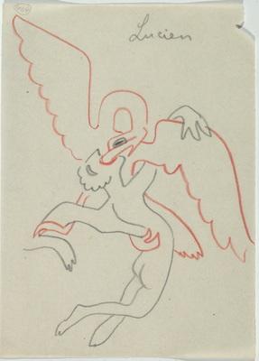 Siergiej Eisenstein, rysunki z serii: bez tytułu; niedatowane, kolekcja prywatna: Alexander Gray Associates, Nowy Jork; Matthew Stephenson, Londyn