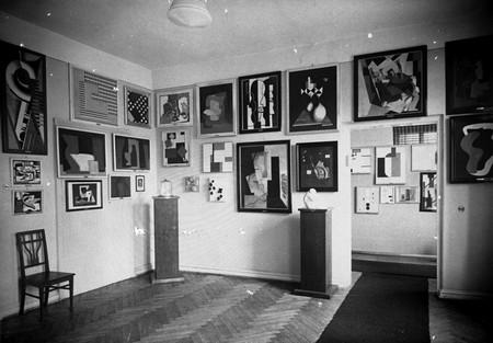 Międzynarodowa Kolekcja Sztuki Nowoczesnej grupy a.r., Łódź 1931, fot. Muzeum Sztuki w Łodzi