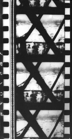 """Józef Robakowski, kadry z filmu """"Idę"""", 1973, dzięki uprzejmości artysty."""