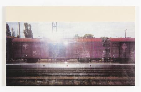 R.H. Quaytman, Słońca, Rozdział 1, 2001 © R.H. Quaytman