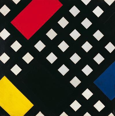 Gerrit Thomas Rietveld, Fotel czerwono-niebieski, 191