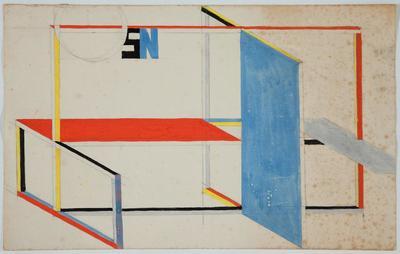 W. Strzemiński, Projekt wystawienniczy, 1946-48 (3