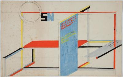 W. Strzemiński, Projekt wystawienniczy, 1946-48 (5