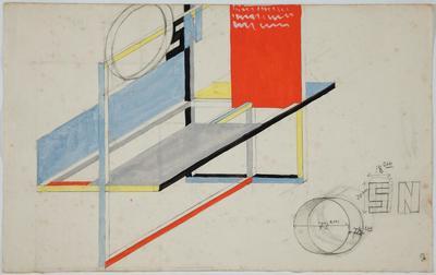W. Strzemiński, Projekt wystawienniczy, 1946-4