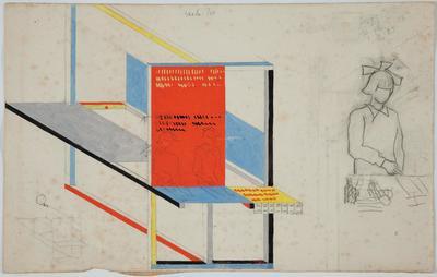 W. Strzemiński, Projekt wystawienniczy, 1946-48 (2