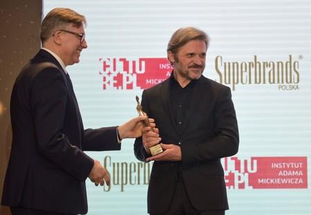 Od lewej: dyrektor Instytutu Adama Mickiewicza Krzysztof Olendzki, dyrektor Muzeum Sztuki w Łodzi Jarosław Suchan, fot. B. Syta