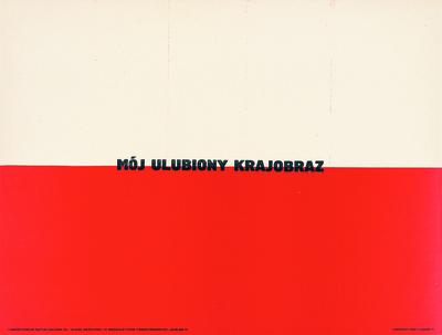 Leszek Przyjemski, Mój ulubiony krajobraz, 1971, dzięki uprzejmości artysty