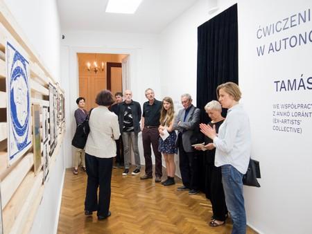 Wystawa Ćwiczenia w autonomii. Tamás Kaszás we współpracy z Anikó Loránt (Ex-Artists' Collective)