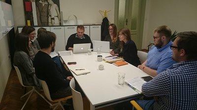 Spotkanie zespołu projektowego, - czerwiec 2017 - fot. A. Jurek