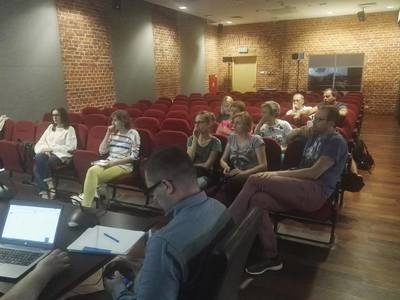 Spotkanie zespołu projektowego - lipiec 2017