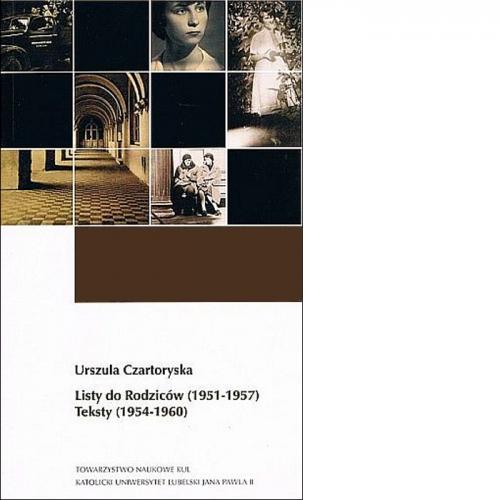 Urszula Czartoryska. Listy do rodziców (1951-1957), Teksty (1954-1960)